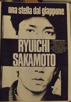 Ryuichi Sakamoto ad Italy
