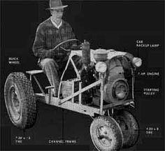 Build a Garden Tractor Plans
