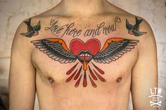 Corazón con alas por Dennis