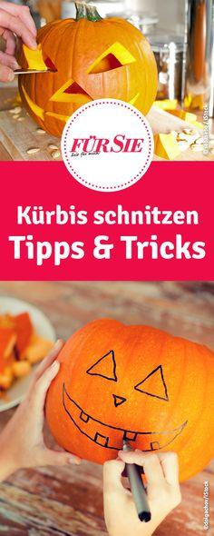 Kürbis schnitzen Tipps & Tricks