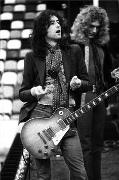 ♫ Jimmy Page and Robert Plant ♫ so long ago but seems like just yesterday!