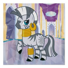 Zecora Postcard Beautiful My Little Pony gift ideas for your kids events such as birthdays, parties, etc. My Little Pony Princess, My Little Pony Birthday, My Little Pony Party, My Lil Pony, Cute Horse Pictures, Crystal Ponies, My Little Pony Merchandise, Mlp Pony, Cute Horses
