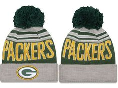 abb852ff134b16 2017 Winter NFL Fashion Beanie Sports Fans Knit hat Green Bay Packers Hat, Nfl  Green