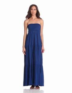 Amazon.com: Velvet Women's Masha Strapless Maxi Dress: Clothing