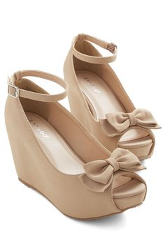 These will be in my real closet soon! Pack on the Panache Wedge, #ModCloth
