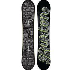 Deja Vu Flying V Snowboard - Burton Snowboards