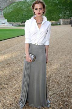 Emma Watson at the royal marsden dinner