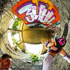 [#strawberrylollipops] #cosplay #cosmemisa #lollipopchainsaw #sanromeroknights #cheerleader #360photo #panorama #zombiehunter #modelshooting #zombies #chainsaw #juliettestarling #misa #costume #urbex #lostplace #lostplaces #streetart #graffiti #munich #münchen #360gradmünchen #lifeis360 #tinyplanet #tinyplanetbuff #pink #killyourcity #360photography #blonde