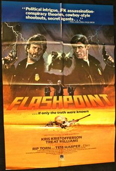 FLASHPOINT 1984 Movie Poster 27x41 RARE Treat Williams #Crime #MoviePoster   http://stores.ebay.com/AwesomeBMovies