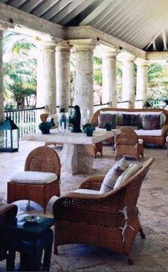 Oscar de la Renta - home in Punta Cana - verandah.jpg