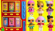 LOL Surprise Dolls Wrong Clothes Lil Sisters Ultra Rare Vending Machine ...