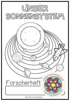 Lernwerkstatt Unser Sonnensystem: Der Weltraum und das Sonnensystem für Kinder erklärt. Lernwerkstatt zum Homeschooling für die Grundschule oder Klasse 5. Einfach PDF auf iPad laden, schon kann der Unterricht beginnen. Mit interaktiven Unterrichtsmaterialien! Perfekt, wenn Kinder fragen: Wie funktioniert das Sonnensystem? Was ist der Weltraum?