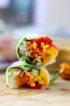 Pachețele de primăvară Cantaloupe, Mango, Lime, Asia, Food, Salads, Manga, Limes, Essen