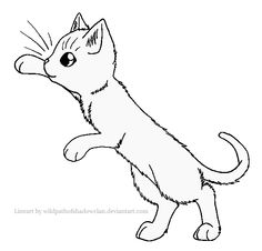 21 best Warrior cat coloring pages images on Pinterest | Warrior ...