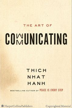 The Art of Communicating - Thich Nhat Hanh - Hardcover