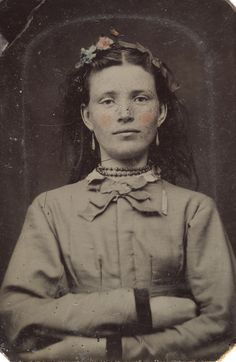 Portrait of a young woman, ca. 1856-1900. | SFFf-100499.2229… | Flickr