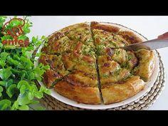 Ha van otthon cukkini, mindenképpen próbáld ki! Kovásztalan! NAGYON JÓ ÉS FINOM! - YouTube Vegan Vegetarian, Vegetarian Recipes, Fun Recipes, Zucchini, Corndog Recipe, Middle East Food, Corn Dogs, Artisan Bread, Empanadas