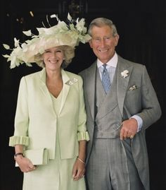 Prince Charles of Wales and Duchess of Cornwall