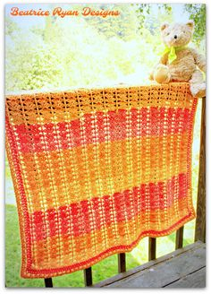 Sweet Sunset Baby Blanket If you love this project, add it to you Ravelry favorites! Click Here!! Also available in PDF Format on Ravelry and Craftsy!! This super sweet baby blanket is and easy to…