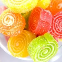 Sugared gummies