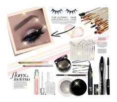 """""""Sparkles"""" by youaresofashion ❤ liked on Polyvore featuring beauty, Urban Decay, Post-It, Christian Dior, Essie, Lancôme, jane, Inglot and Cara"""
