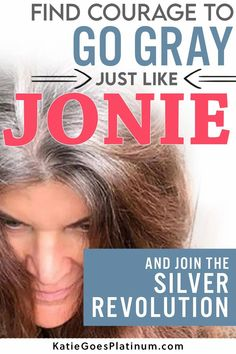 After 30  years of dyeing, Jonie, the founder of the gray hair Facebook group Silver Revolution, decided to ditch the dye and let her long brunette hair go gorgeously gray!  Check out her tips for the gray hair transition at 50.  Her long silver hair is simply gorgeous, and shows that those old rules about cutting your hair short over 40 are way outdated! Grey Hair Dye, Hair Color Dark, Dye My Hair, Cool Hair Color, Dark Hair, Long Silver Hair, Long Gray Hair, Hair Gummies, Grey Hair Journey