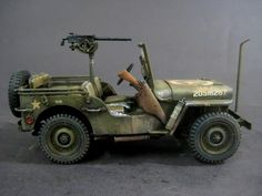 US Willys Mb Jeep 1/4Ton by Tamiya Models and Paints