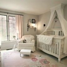Project Nursery - Claire's Nursery Crib Canopy
