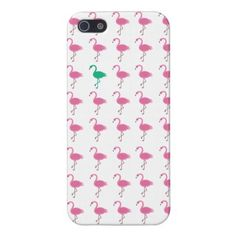 odd flamingo iphone 5 glossy cover for iPhone 5