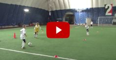 Soccer Drills - and Soccer Drills - and Great Soccer Drills. Well structured youth training session, with several variations and progressions of and drills. U8 Soccer Drills, Soccer Drills For Kids, Soccer Practice, Soccer Skills, Youth Soccer, Soccer Tips, Kids Soccer, Soccer Games, Soccer Stuff