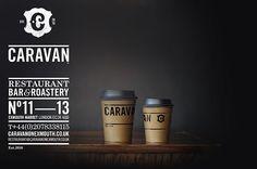 Caravan coffee branding
