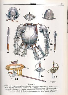 MINIATURAS MILITARES POR ALFONS CÀNOVAS Armadura Medieval, Medieval Knight, Medieval Armor, Conquistador, Fantasy Dragon, Fantasy Armor, Types Of Armor, Thirty Years' War, Early Modern Period