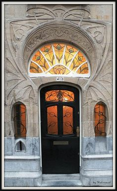 Art Nouveau Door in Den Haag