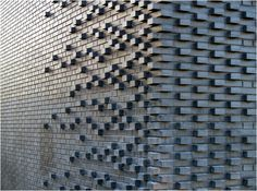 Brick Pattern, Mark Koehler Architects Handmade tiles can be colour coordinated…