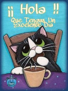 Cute Cat Quotes, Good Day Quotes, Good Morning Quotes, Change Quotes, Good Morning Messages, Good Morning Greetings, Love Messages, Good Morning In Spanish, Good Day Wishes