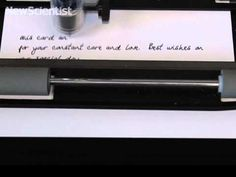 Robot scribe copies your handwriting
