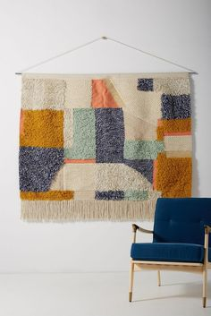 Slide View: Handwoven Seraphina Wall Hanging Items similar to Boho handwoven wall hanging on EtsyBeautifully woven Raw silk and Wheat Wall Hanging. Measures roughly long x In 1 DIY Pom Pom Ideas: Rug, Wall Hanging and Table Cover Woven Wall Hanging, Tapestry Wall Hanging, Fabric Wall Hangings, Hanging Fabric, Fabric Wall Art, Latch Hook Rugs, Textiles, Diy Wall Decor, Cool Walls