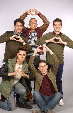 Midnight Red   Anthony(topleftcorner)Joey(topmiddle)Colton(toprightcorner)Thomas(bottonleft)Eric(bottonright)