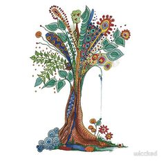 tree of life...could possibly be a nice tattoo..