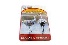 Kearney Nebraska Sandhill Crane Sticker