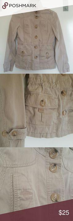 Eddie Bauer Jacket 100% cotton  36 bust  22.5 length  23 sleeve Eddie Bauer Jackets & Coats