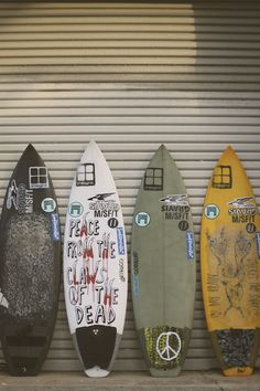 I love the peace from the dead surf board :D