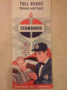 Check out this item in my Etsy shop https://www.etsy.com/listing/515370684/standard-oil-co-vintage-toll-roads-map