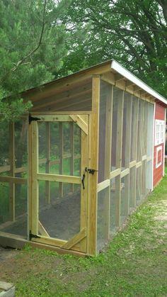 Chicken Coop Plans Free, Backyard Chicken Coop Plans, Small Chicken Coops, Easy Chicken Coop, Chicken Coop Run, Chicken Garden, Chicken Coop Designs, Building A Chicken Coop, Chickens Backyard