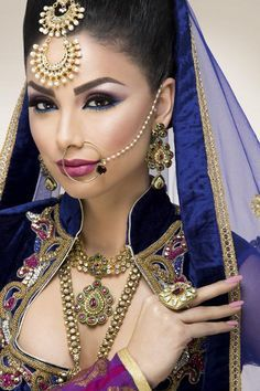 Beautiful Indian Bridal Makeup Looks For Girls 013