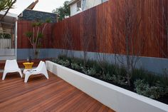 MERBAU WOOD SCREEN FOR FENCE