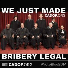 scotus legalizes bribery and corruption