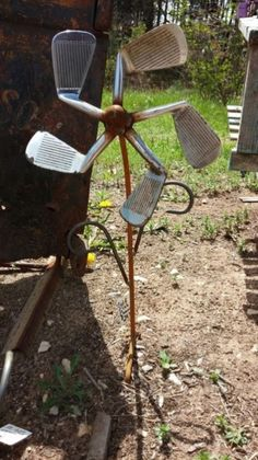Amazing Metal Yard Decoration To Be A Good Ideas For Back Yard 22