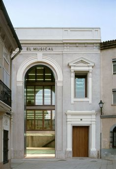 Galeria de Centro Cultural El Musical / Eduardo de Miguel Arbonés - 4
