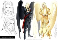 original: Lucifer Morningstar by MathiaArkoniel on DeviantArt